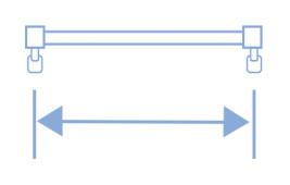 コンテンツ用 掛け替え 採寸方法 機能性レール