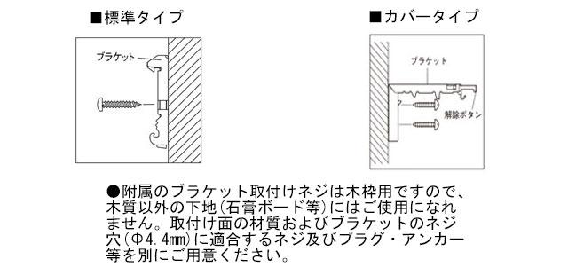 【ロール数クリーン】取付方法-正面付け
