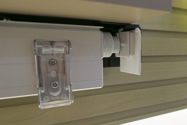 【ニチベイロールスクリーン】テンションバーA 浴室ユニットバス用 ダイヤル方式 幅20~180cm 高さ10~180cm