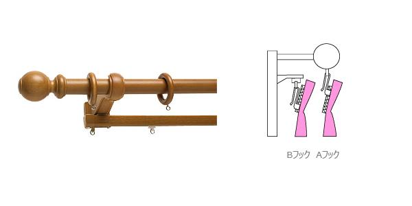 コンテンツ用 装飾性レール 機能性レール フックAB