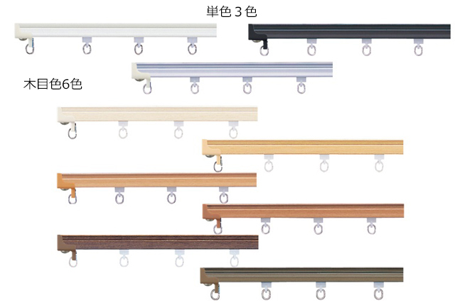 タチカワブラインド V17 カラー一覧