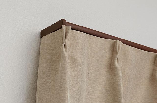 カーテン開閉音がとても静かな理由 リターンを考慮したデザイン「キャップストップM」